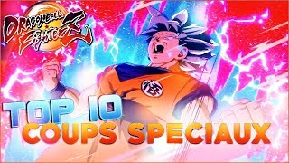 TOP 10 COUPS SPÉCIAUX DRAGON BALL FIGHTERZ !