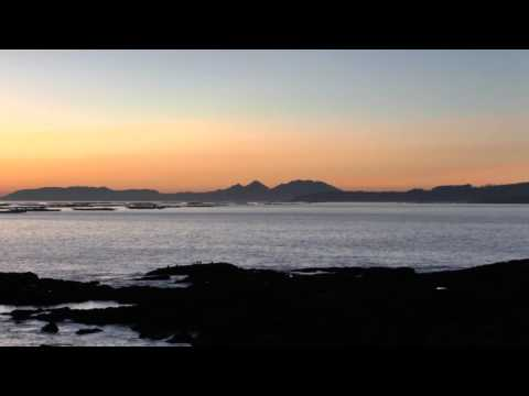 Cies Islands & Vigo Bay Sunset 2015
