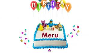 Happy Birthday Meru