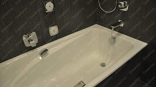 видео Ремонт ванны и туалета - фото капитальной отделки санузлов