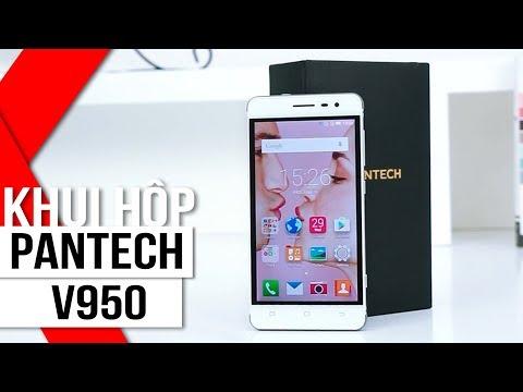 FPT Shop - Khui hộp Pantech V950: chống sốc, chống nước, pin khỏe