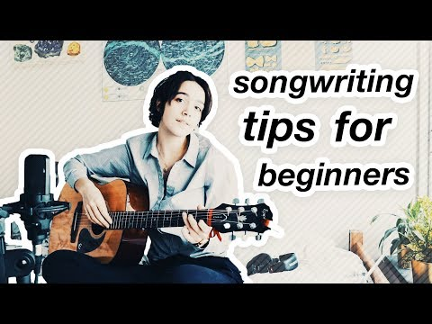 songwriting tips for beginners!! (easy way to start writing music)