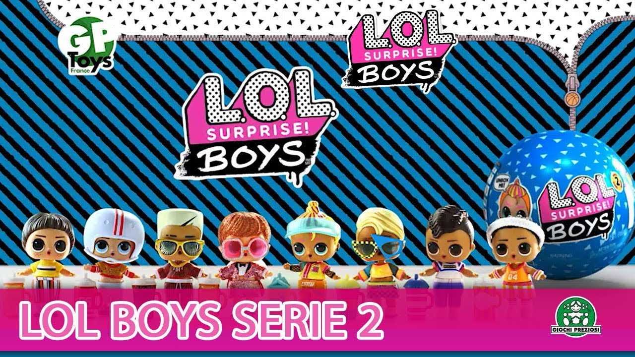 L.O.L Surprise / Boys série 2 / Pub TV / Giochi France
