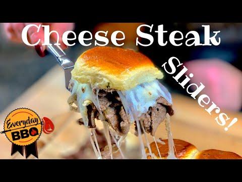 Cheese Steak Sliders Recipe | Indoor Cooking | Party Food | Everyday BBQ