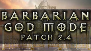 diablo 3 barbarian god mode build patch 2 4 ptr
