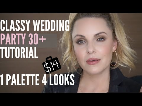 super-flattering-wedding-party-makeup-tutorial-using-a-$14-palette!!-😂-||-4-looks-one-palette