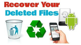 How to RESTORE deleted files/photos/videos in less than one minute