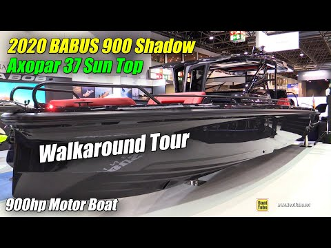 2020 Brabus Shadow 900 Sun Top Luxury Yacht - Walkaround Tour - Debut at 2020 Boot Dusseldorf