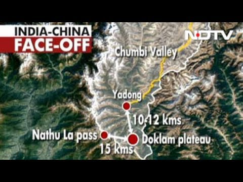 The India-China Stand-off At Sikkim Border Explained In Graphics
