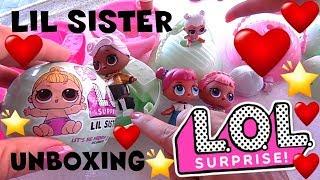 LOL SURPRISE #5 Unboxing nuova LIL SISTER serie 2 giochi preziosi - By Lara e Babou
