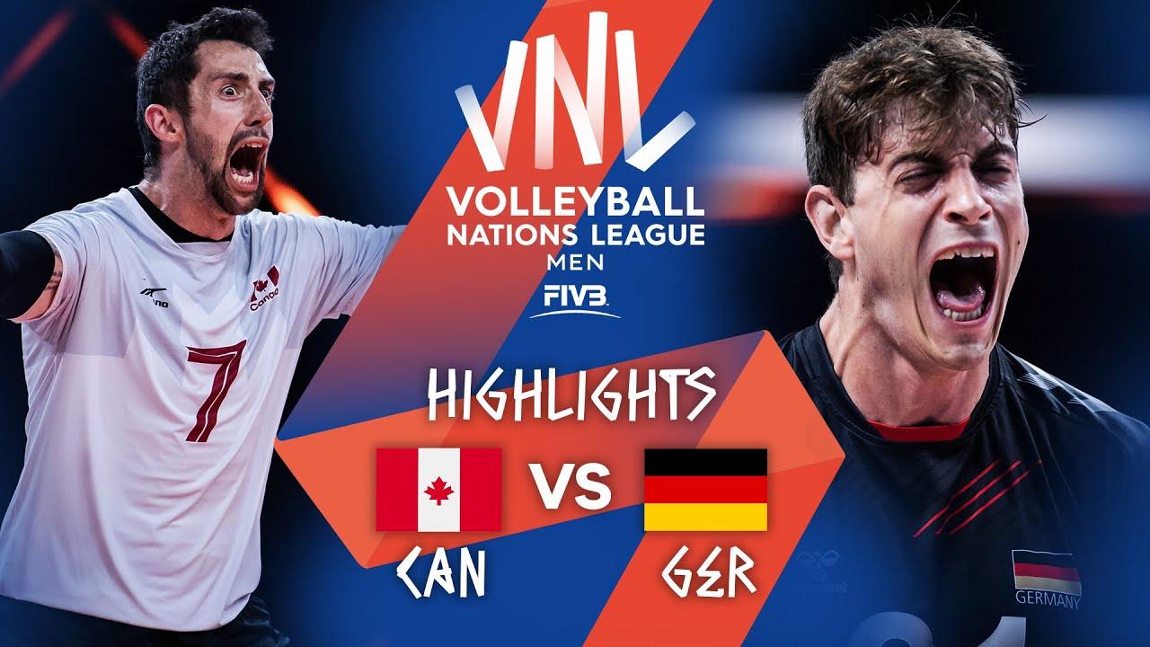 Download CAN vs. GER - Highlights Week 4   Men's VNL 2021
