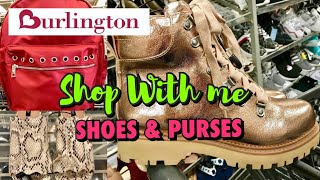Burlington SHOP WITH ME SHOES & HANDBAGS New Finds! Shoe Shopping PURSE SHOPPING