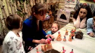 видео Музей русской народной игрушки
