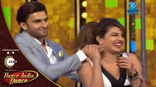 priyanka ranveer and arjuns masti on dance india dance season 4 full episode