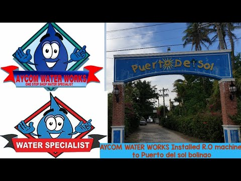 Download Aycom water works || R.O Machine Purified product Installed @ Puerto Del Sol Resort - Bolinao