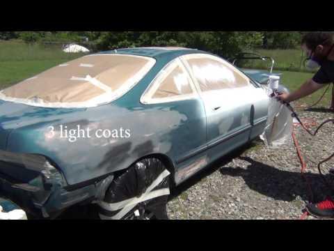 Integra $50 Rustoleum paint job