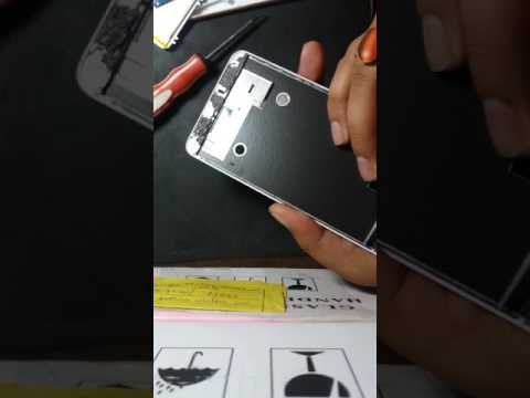 LAVA IRIS 870 LCD & Touch Screen Replacement Guide/complete disassembly