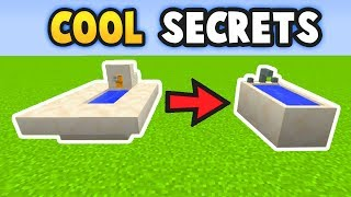 Minecraft 6 COOL  Secret Things You Can Make (Ps3/Xbox360/PS4/XboxOne/WiiU)