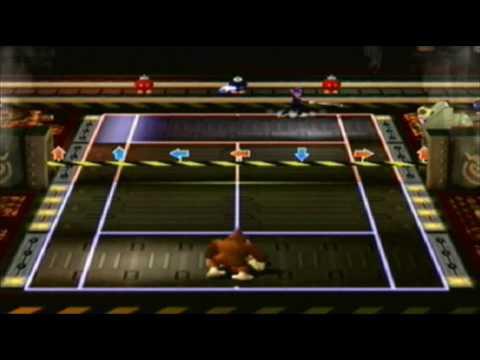 GCN Nostalgia - Mario Power Tennis:  Wario Factory Court