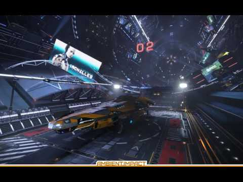 Elite Dangerous - High tech docking bay ambience
