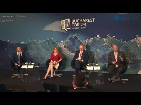 """""""A Conversation on: Trumpism, Technology and the New World Disorder"""" at Bucharest Forum 2017"""