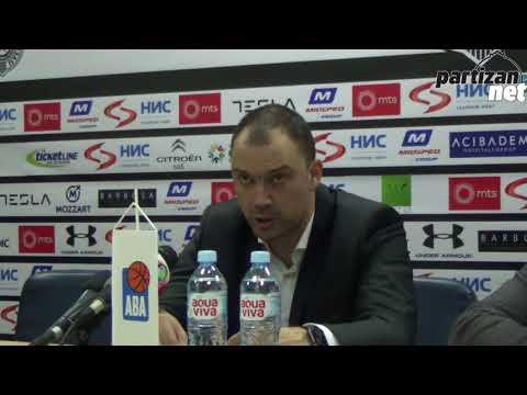 KZŠ posle utakmice KK Partizan NIS - KK Cibona