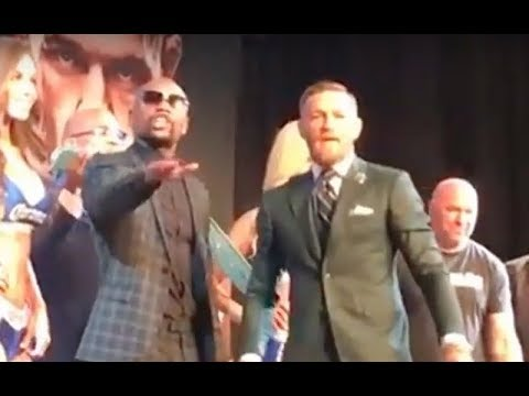 OH SH!T! FLOYD & CONOR ATTACK HECKLER AT...