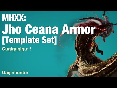Monster Hunter XX: Jho Ceana Armor (Gugigugigu)