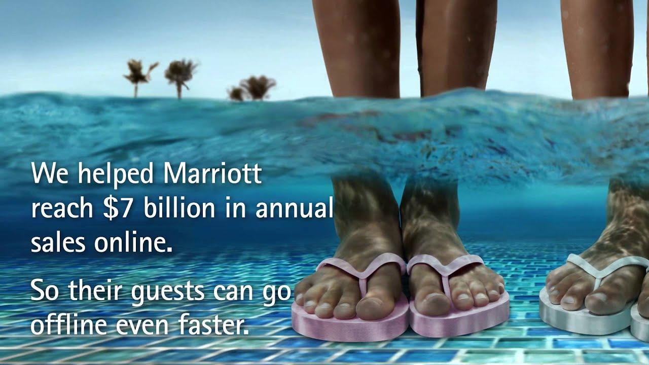 accenture marriott digital ooh- mixx awards entry