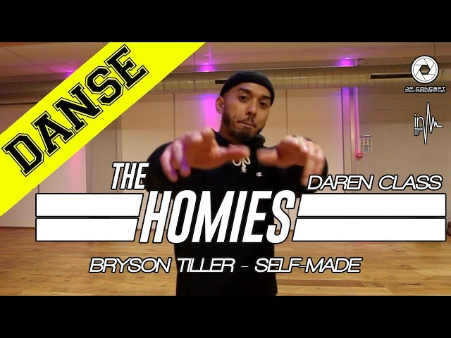 THE HOMIES CLASS X BRYSON TILLER - SELF-MADE | DAREN TEP | INPULSE | LYON | 2017 | JP CONCEPT