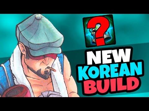 KOREAN CHALLENGER NEW JUNGLE BUILD - KNIGHT'S VOW! - League of Legends