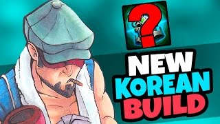 KOREAN CHALLENGER NEW JUNGLE BUILD - KNIGHT'S VOW! - League of Legends