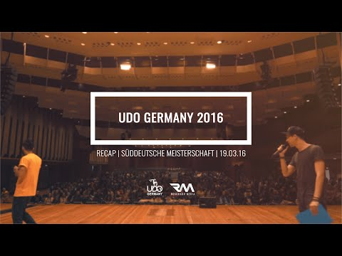 UDO GERMANY 2016 - Süddeutsche Meisterschaft [OFFICIAL RECAP] // by Roschkov Media