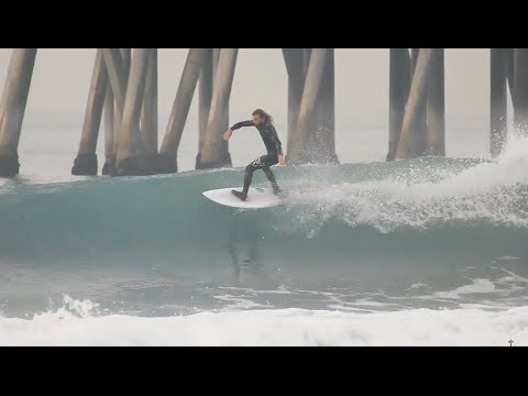 Surfing HB Pier | December 26th | 2017 (RAW)