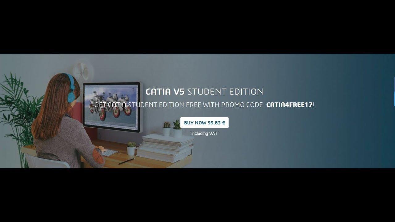 Tutorial Install CATIA V5 STUDENT EDITION FREE