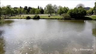 Plan d'eau à Metz - Est de la France