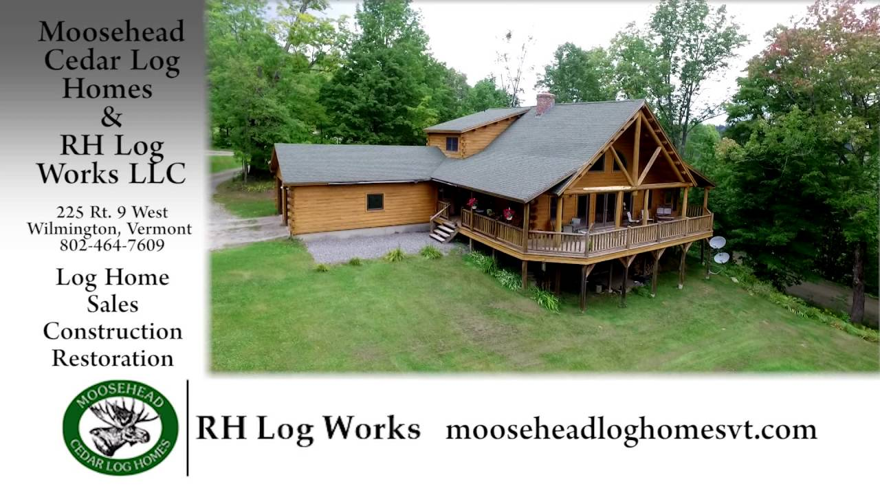 Rh Log Works And Moosehead Cedar Log Homes