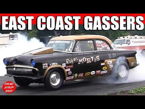 2013 PA Gasser Nationals East Coast Straight Axle Gassers Drag Racing RD 1 Willys Nostalgia Videos