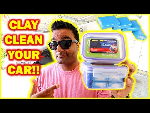 HOW TO Clay Bar Your Car (Remove Stubborn Stains and Marks)