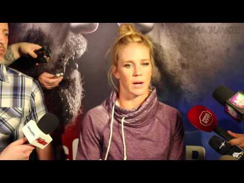 UFC 196 open workouts: Holly Holm on matchup with Miesha Tate (full interview)