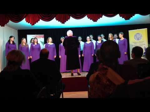 "Choir ""Mart akkord"" (Moscow) -  Богородице дево радуйся (Трубачев)"