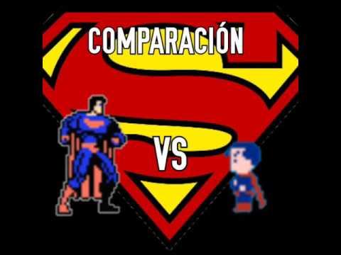 Comparación: superman nes (versión beta vs versión final) leer descripción