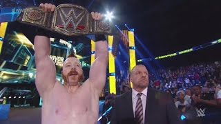 Sheamus cashes in his WWE Money In The Bank contract reaction.
