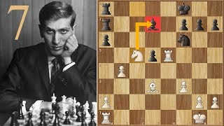 Nxd7! WHAT??? | Fischer vs Petrosian | (1971) | Game 7