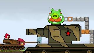 Angry Birds Animation: TANK WAR remake