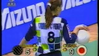 【Women Volleyball】【1994 Hong Kong Challenge Cup】【Japan vs Yaohan】