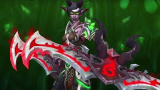 World of Warcraft LEGION: DEMON HUNTER (What we know so far) !!