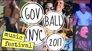 governors ball 2017 vlog lorde chance marshmello gambino