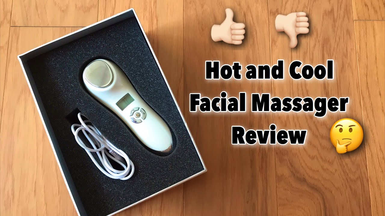 Hot And Cold Facial Massager Review Youtube