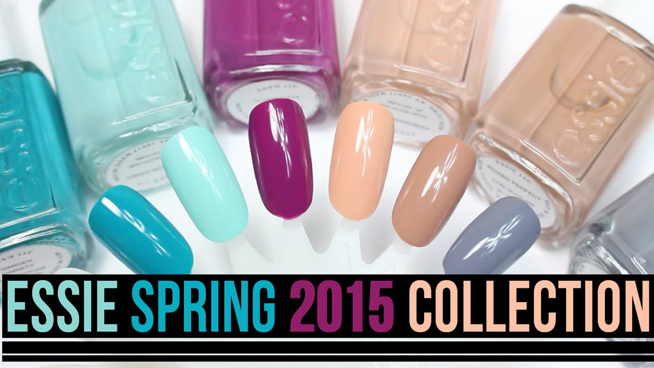 Essie Spring 2015 Polish Collection Swatches! - YouTube